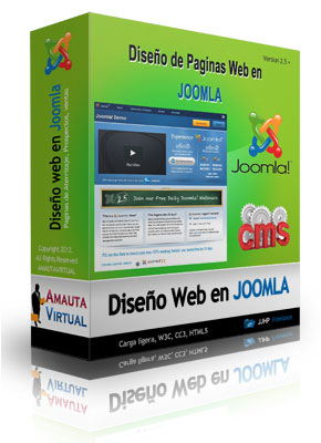 paginas web en joomla