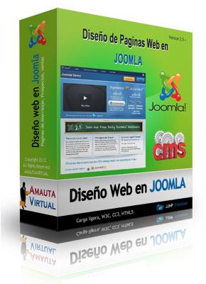 paginas web en joomla