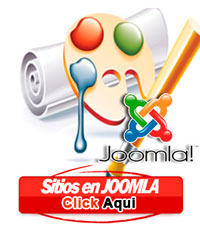 Pagina web en joomla