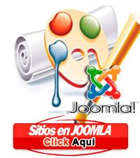 Pagina web en joomla