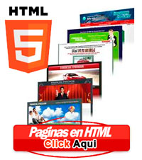 Paginas web en html5