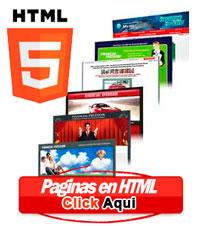 Paginas web en html5